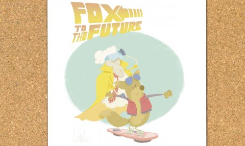 Children's Illustration: Fox to the Future