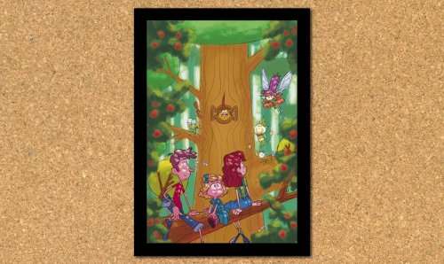 Illustrations for Enid Blyton's The Enchanted Wood